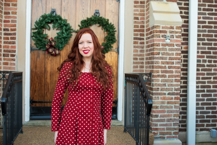 Christmas Cotton Dress