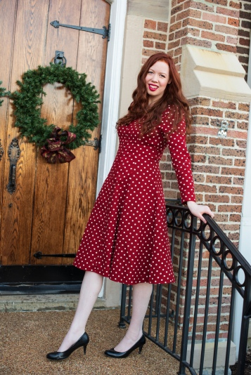 Classic Cotton Christmas Dress